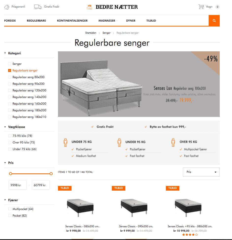 Hyggelig Regulerbar seng – Test – Hjelp til å velge den beste sengen DJ-57